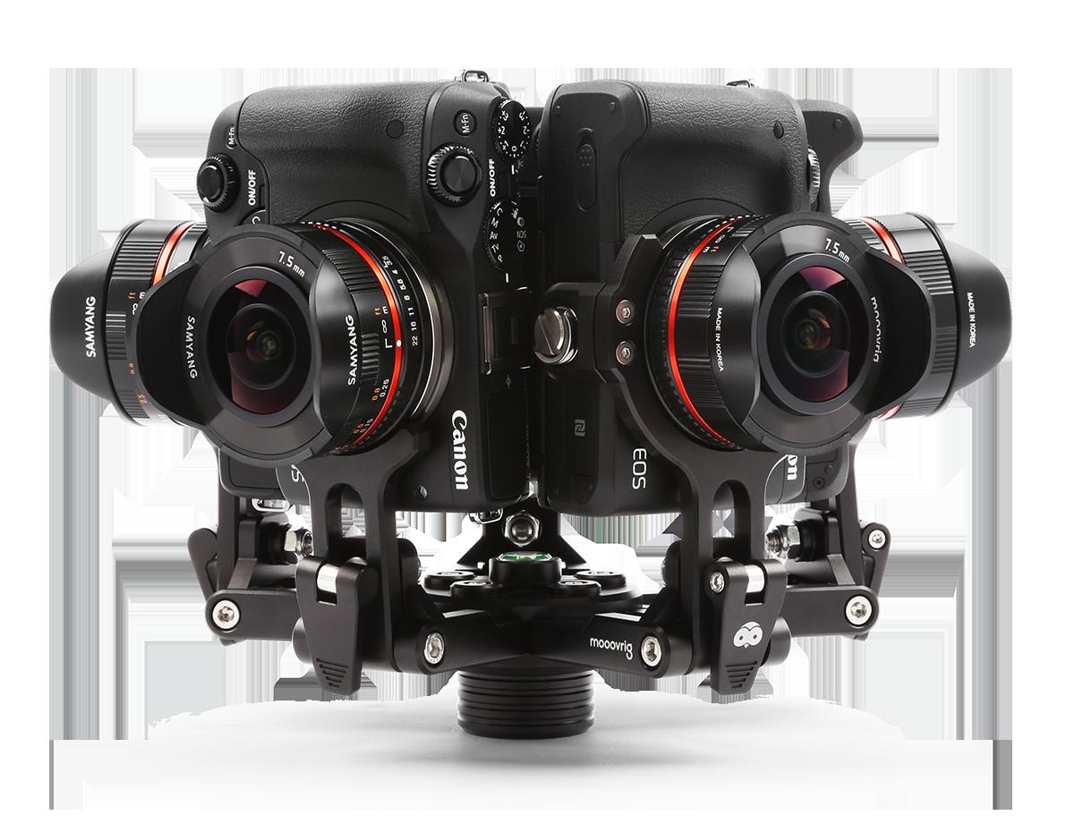 las mejores Cámara 360 grados profesionales - Moovr