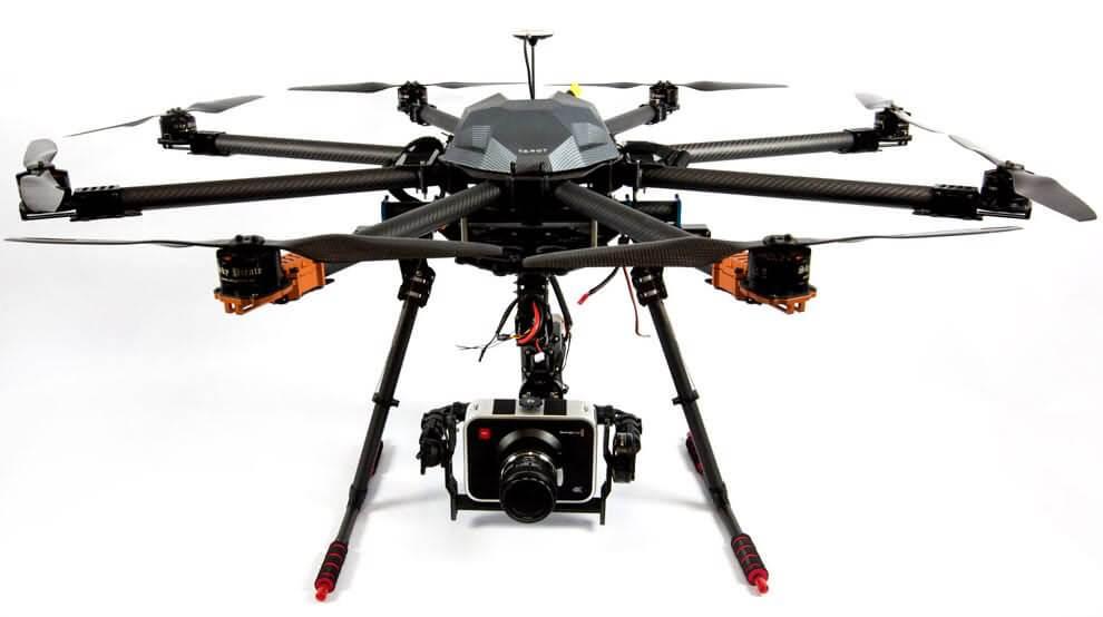 tarot t-18 ready to fly drone Los 10 mejores drones de carga de 2018