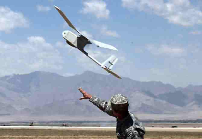 Drones de rango muy cercano