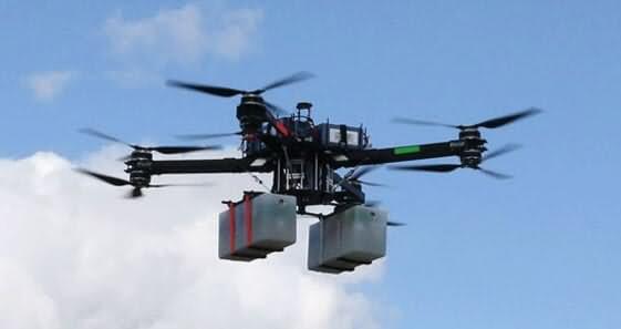 vulcan uav airlift Los 10 mejores drones de carga de 2018