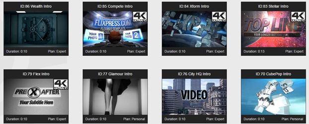 FlixPress para hacer intros para YouTube