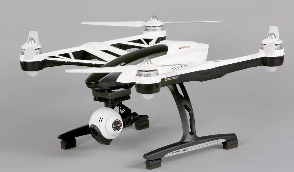 yuneec q500+ mejores drones con vuelos más largos de 2018