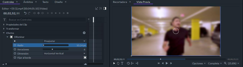 FilmoraPro Blurs Effects