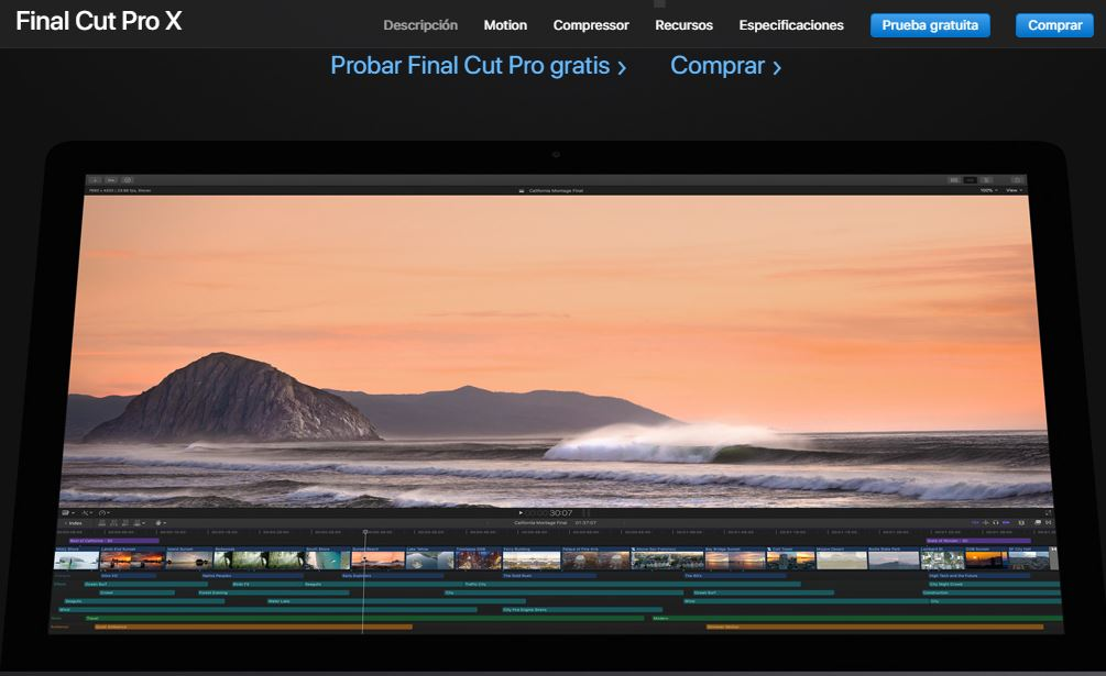 final cut pro hacer video en mac