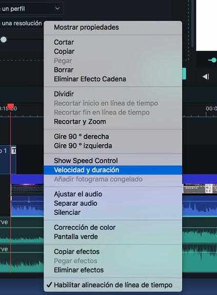 Filmora Mac  Instant cutter merge