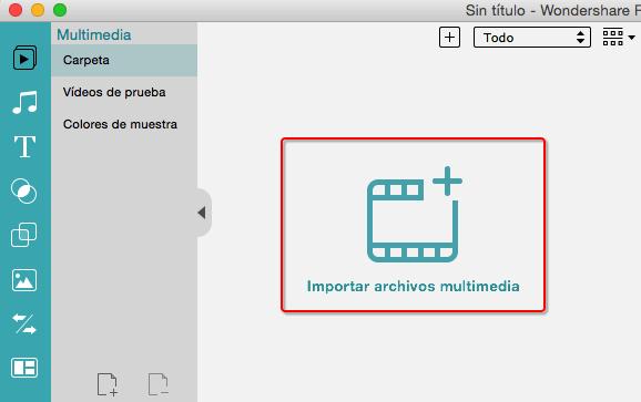 import media file