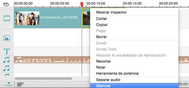 mute audio