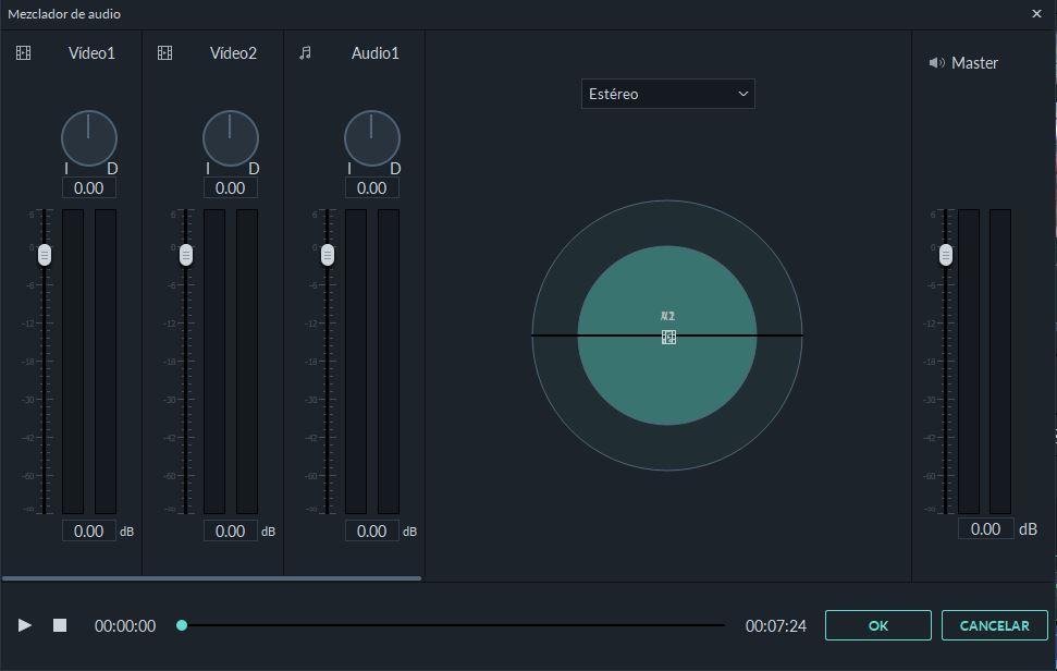 Stereo audio Filmora