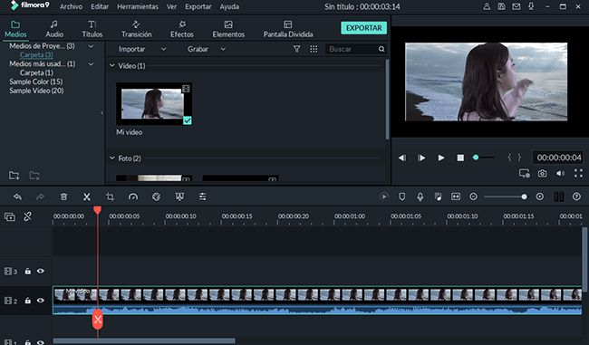 video eidtor parecido a iMovie para Windows
