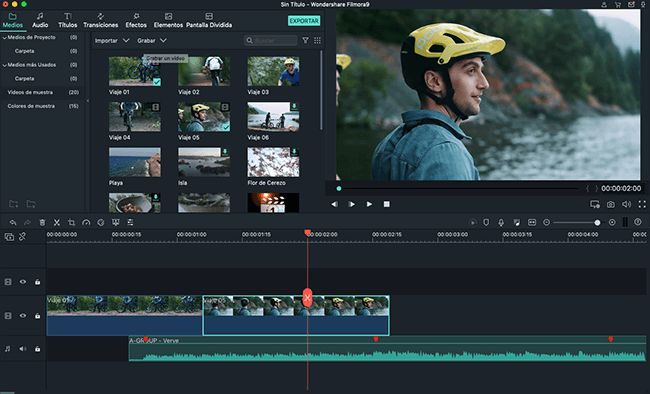 editor de video alternativa a sony vegas para mac