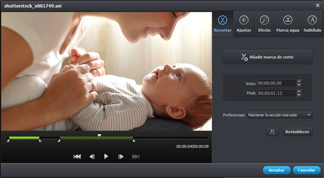 MOD to MPEG converter