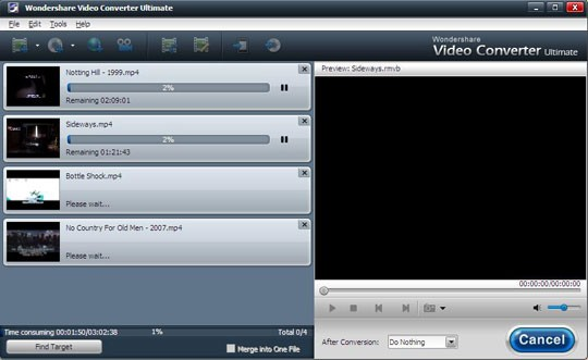 DVR-MS converter converting
