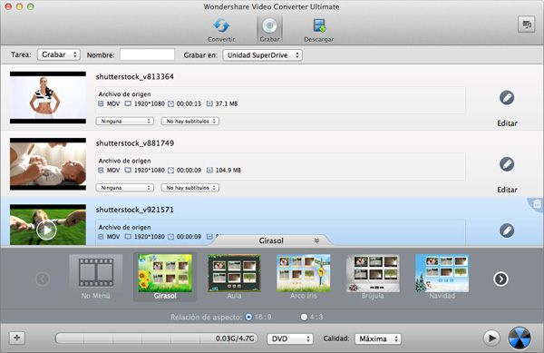 Cómo copiar DVD en OS X Mountain Lion