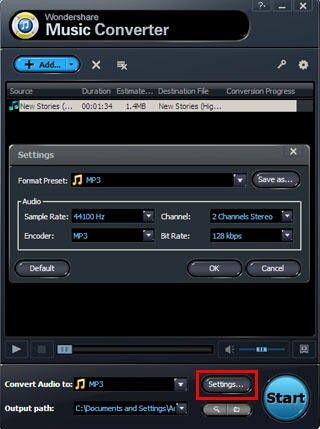 convert M4P to MP3