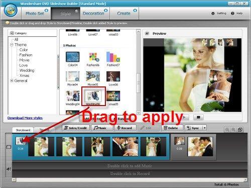 slideshow for YouTube