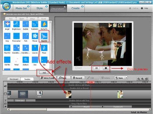 make a slideshow for youtube