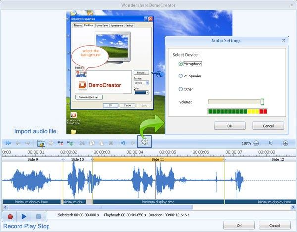 recording screen activity