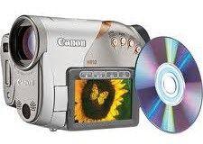 canon DVD camcorder Vixia HR10