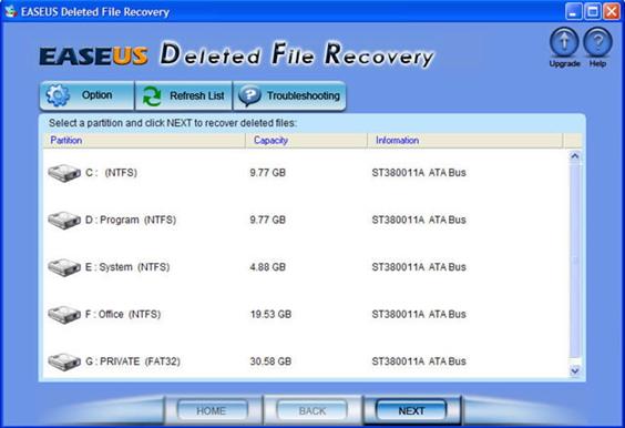 EaseUs Deleted File Recovery y sus mejores alternativas