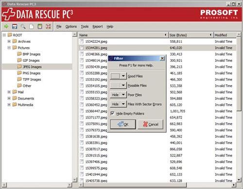 7 herramientas de restauración de archivos para Mac OS X