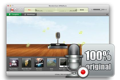 AllMyMusic para Mac key feature