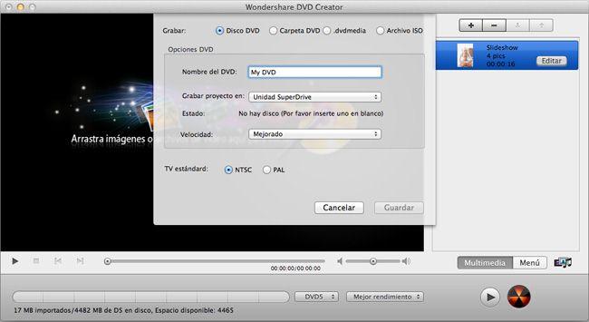 convertir imovie a dvd