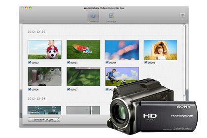 Video Converter Pro para Mac key feature