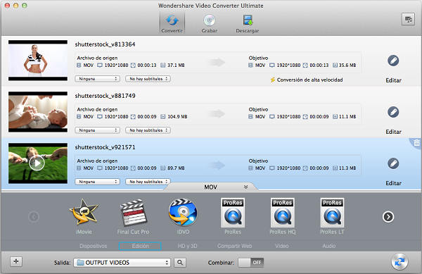 convertir AVCHD a formatos de archivo compatibles con Final Cut Pro