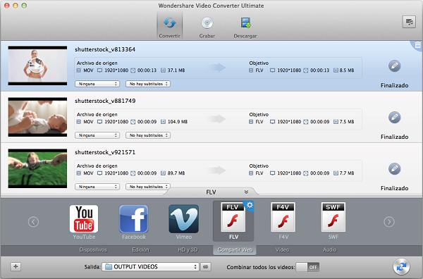 convierte de MOV a FLV en OS X Mountain Lion
