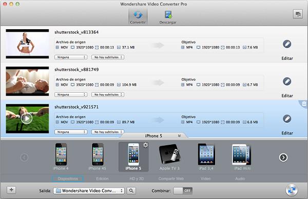 conversor de archivos avi a mpeg para mac
