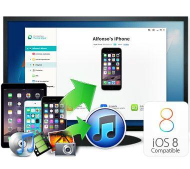 Exporta contenidos de iPhone al ordenador