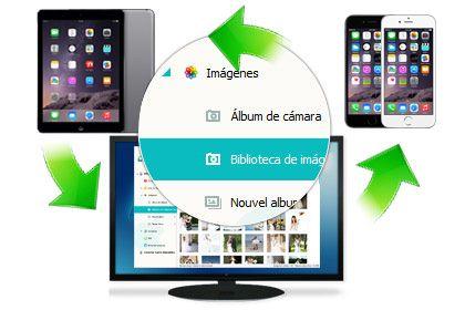 administrar archivos en iPhone