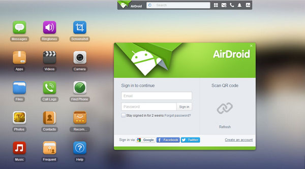 samsung kies alternativas AirDroid