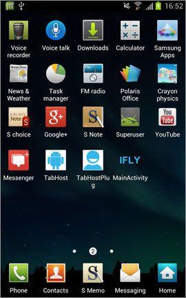 capturar una pantalla Android
