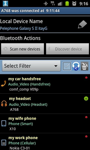 Bluetooth Manager ICSr