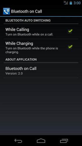 Bluetooth on Call