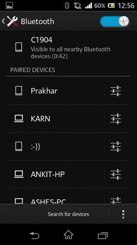 Gestor De Bluetooth Android