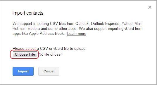 Respalda contactos de Android con Gmail