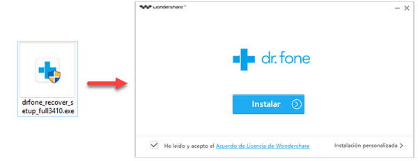Wondershare Dr.Fone para android