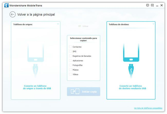 transferir contactos desde dispositivos android a ios