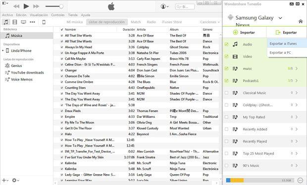 conversión de archivos AVI a formatos de archivo compatibles con iTunes