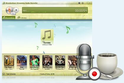 Streaming Audio Recorder key feature
