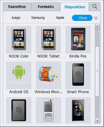 conversor de videos a formatos de archivo compatibles con Windows Movie Maker