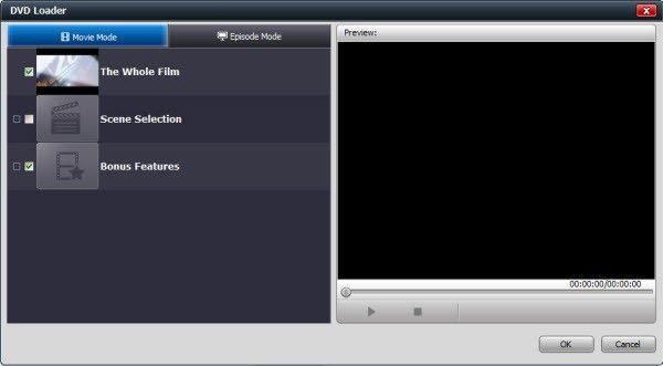 Video Converter Ultimate, Load DVD