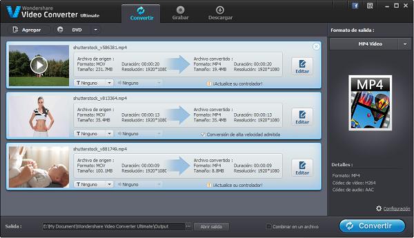 Cómo convertir archivos AVI a formatos de archivo compatibles con el iPad Mini,