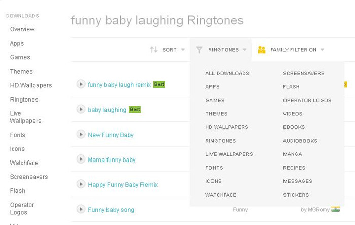 Top 20 Websites and Apps to Download Baby Laughing Ringtones