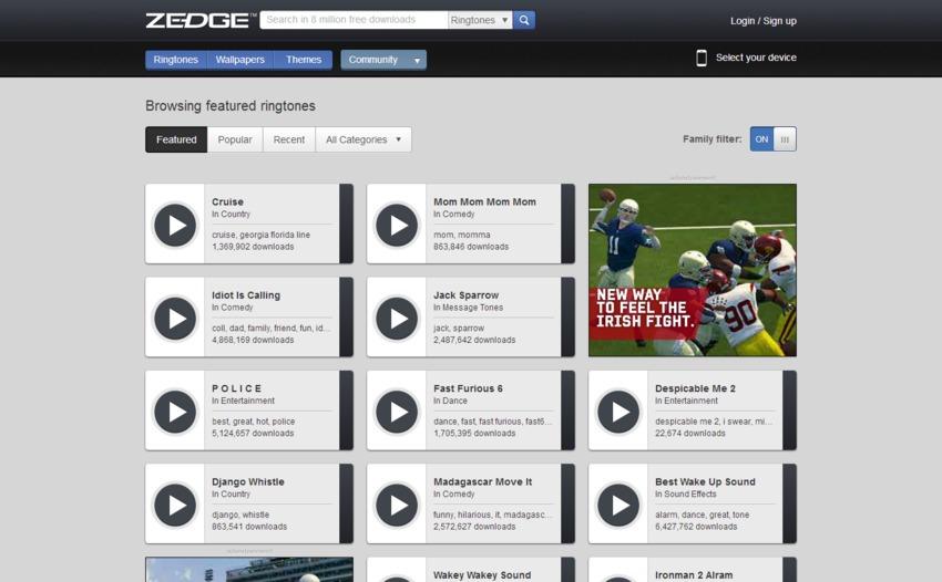 Top 20 sitios web y aplicaciones para descargar Cool Ringtones