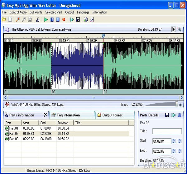 easy audio cutter