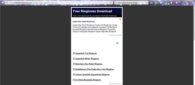 Download Free Tamil Ringtones for Mobile Phone