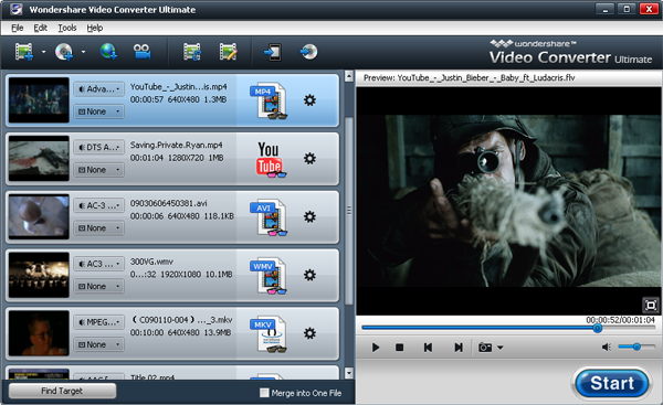 2D to 3D YouTube MP4 converter